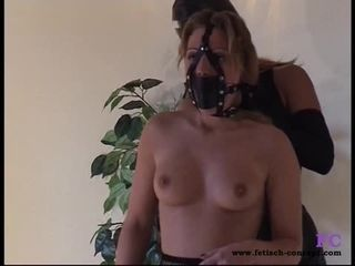 Fetisch Concept com Nude bondage and small tits with Lady Jessica