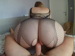 Enormous bum at work - caboose wifey rails manhood