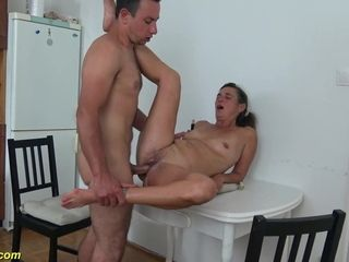 Mother harsh knuckle romped by sonny