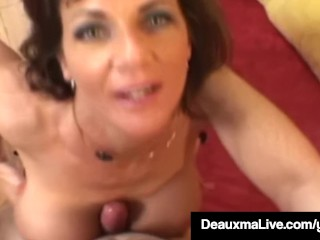 Sex-crazed Housewife Deauxma Gets Pounded Anally & Gets Cummed in excess of
