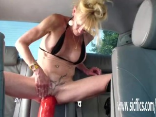Annas effectively dildo shacking up orgasms