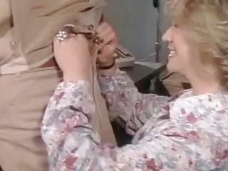 Blond cougar antique porno honey