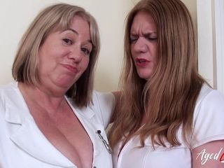 AgedLovE 2 ultra-kinky Nurses and XXL ebony boner