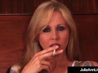 Rauchen Zigarette Große Titten