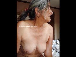 OmaGeiL torrid senior Wrinkly femmes Pictured bare