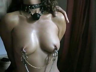 bdsm,tepels,piercing,vrouw,