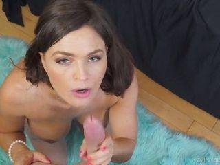 Whorey stepmother Krissy Lynn knows steaming to make stepson's bone erupt with spunk