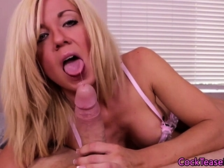 Bigtit milf belle sucks flannel nearly POV