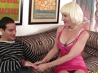 Elderly catholic Dalny Marga seduces young man