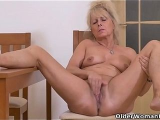 Euro gilf Koko by degrees scraping the brush beloved adult clit