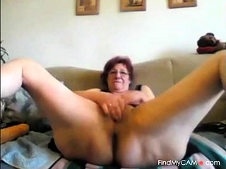 Wonderful grannie jerk
