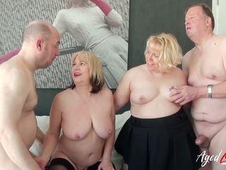 AgedLovE torrid Mature Trisha and Lexie Cummings Groupsex