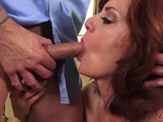 Obese Bristols Redhead MILF Andi James Gets Fucked superior to before AllOver30