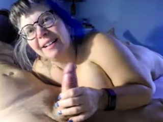Grandmother With massive tits banging