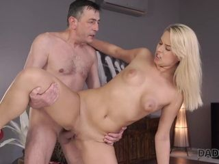 FatherDY4K. Skillful father shares sexual practice with son's...