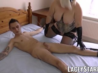 LACEYSTARR warm GILF is eager for deep ass-fuck and warm jism