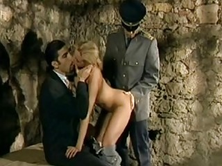 Double penetration ass fucking three-way desire In Europe
