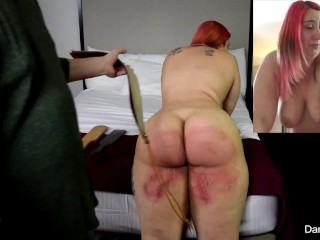 Real Discipline: Taken To Tears two times, Part 1- A Dani Sorrento smack clamp