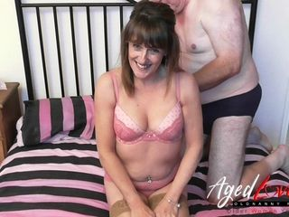 AgedLove fuck-fest orgy intimity with highly steaming housewife Pandora
