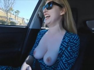 Cougar displaying in public