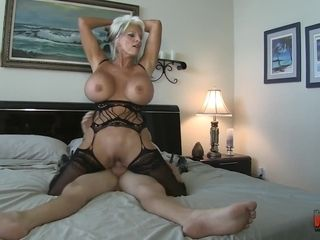 Big-titted fun bags towheaded Hair honey mother Sally D'angelo fucked