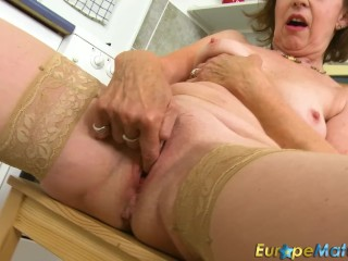 EuropeMaturE Granny Dana Beranova unsurpassed effectuation