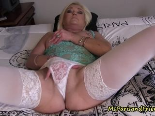 Ms Paris likes to wank in ALL Her fresh underpants