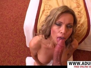 Incredible cougar Josephena point of view intercourse