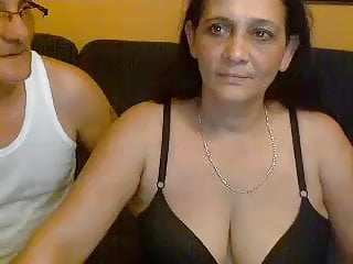 Anita et bruno en webcam