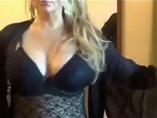 Big-boobed cougar on webcam - observe part 2 on getgirls.online